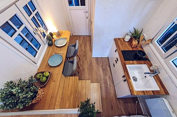 Übernachtung im Tiny House Hamm für 2 (1 Nacht)