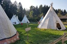 Übernachtung im Tipi in Sauldorf für 2