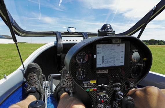 Ultraleicht-Segelflug bei Giessen