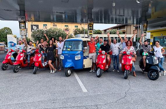Vespa Tour am Gardasee