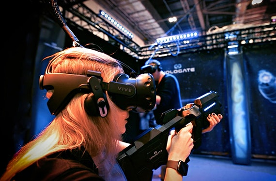 Virtual Reality & Lasertag in St. Gallen