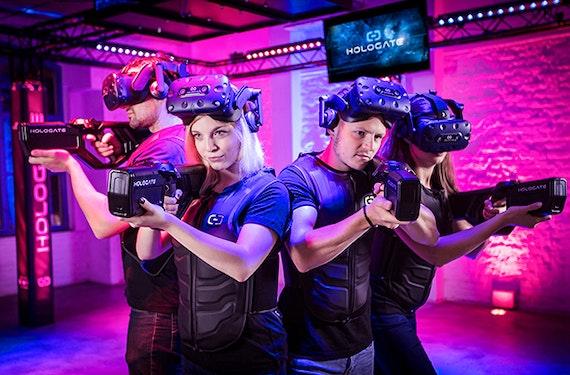 VR Simulator in der Jochen Schweizer Arena