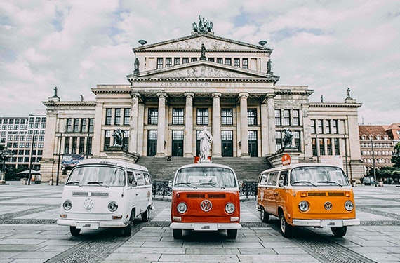 VW Bulli fahren Berlin (60 Min.)