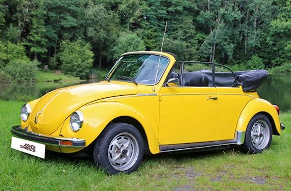 VW Käfer Cabrio fahren