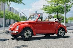 VW Käfer Cabrio mieten Berlin für 2 (4 Std.)