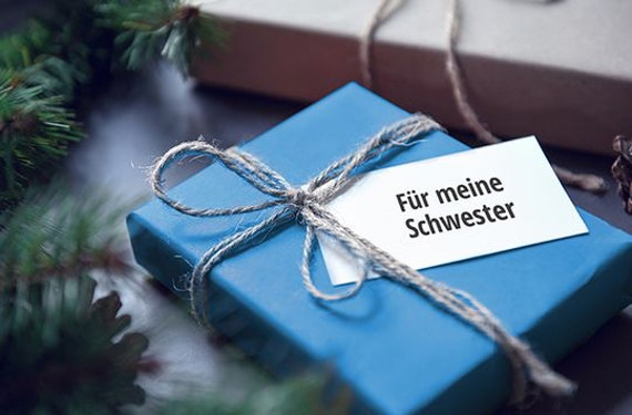 Erlebnis-Mix 'Weihnachtsgeschenk für meine Schwester'