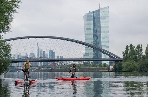 Waterbike Frankfurt (2 Std.)
