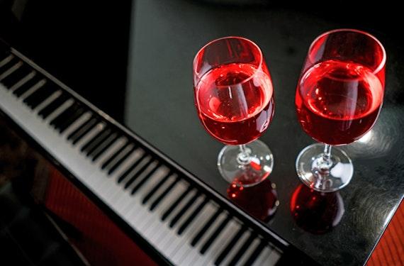 Weinverkostung mit Live-Musik in Köln