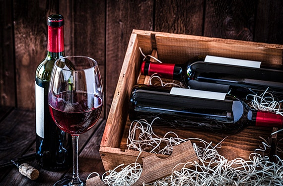 Wein & Schokoladen Tasting online für 2