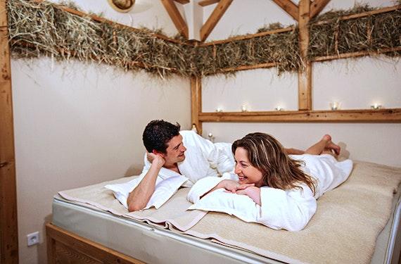 Wellness für 2 Bad Füssing mit Massage (1 Tag)