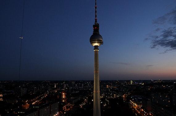 Wellness & Dinner im Fernsehturm Berlin für 2