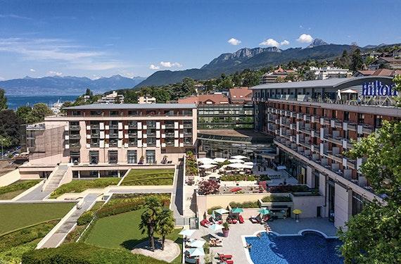 Wellnesshotel Evian-les-Bains für 2 (1 Nacht)