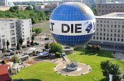 Berlin-Panorama aus dem Welt-Ballon
