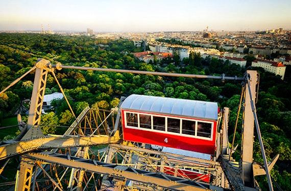 Städtetrip Wien mit Riesenrad & Stephansdom für 2 (3 Tage)
