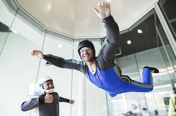 Bodyflying (4 Min.) in Wien