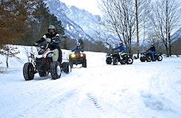 Quad Wintertour Thurgau mit Fondue