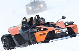 KTM X-Bow Wintercup Schnuppertraining