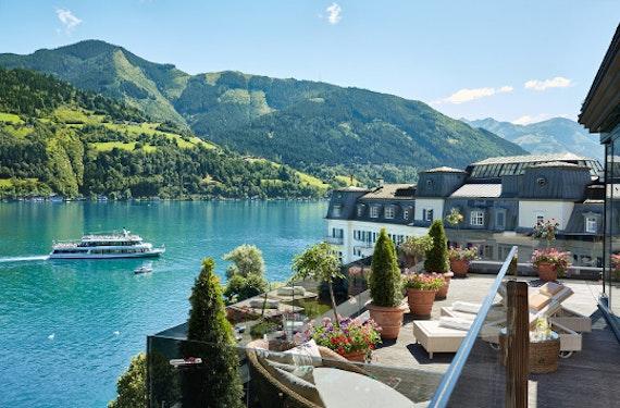 Romantischer Kurzurlaub am Zeller See für 2