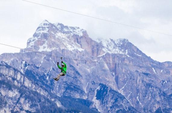 Zipline in Südtirol