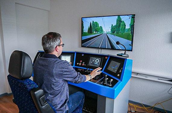 Siemens Vectron Zugsimulator in Braunschweig